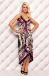 farverig kjole
